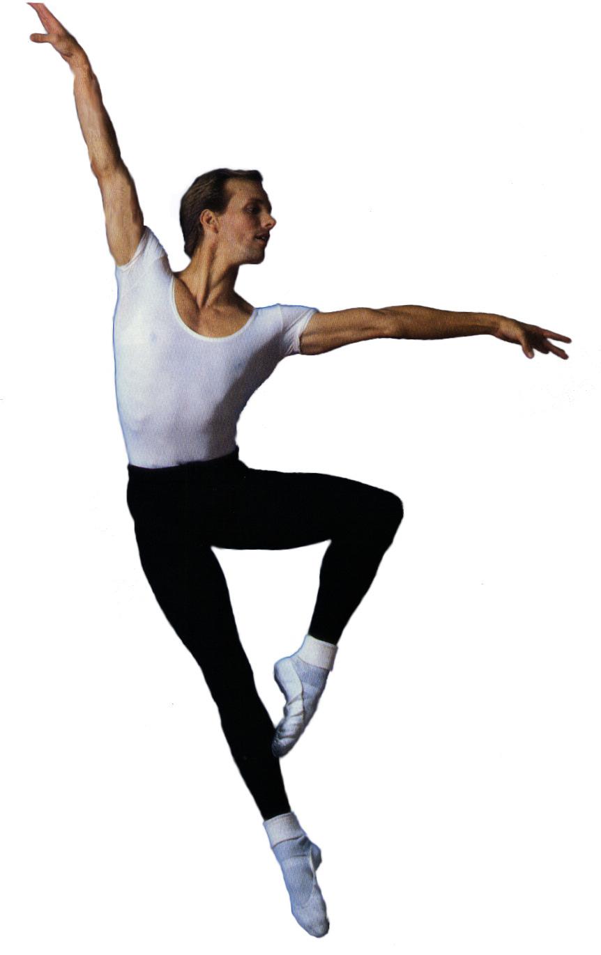 Ballet Dancer Jumping Drawing
